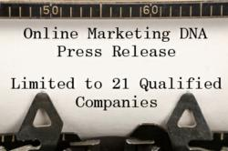 Online Marketing DNA limited to 21 companies